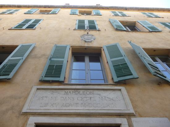 La maison de Napoléon à Ajaccio