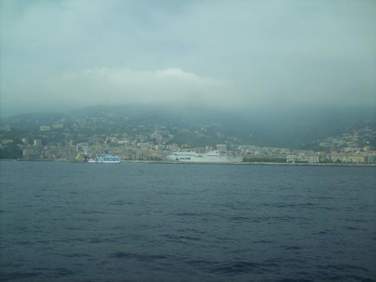 Arrivée au port de Bastia